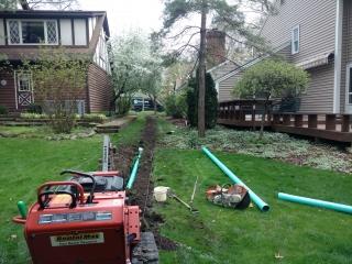 Storm line job