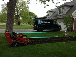 Storm lines for gutters