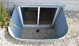 Window well installation
